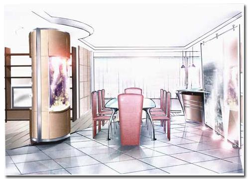 La fabrication d 39 aquarium par abri sous roche - Restaurant japonais porte de versailles ...