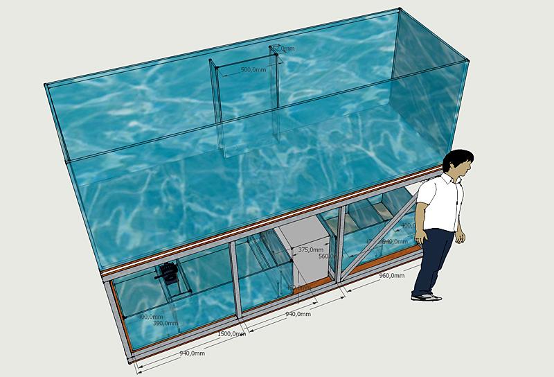 Comment construire un aquarium g ant la r ponse est sur for Construire un aquarium