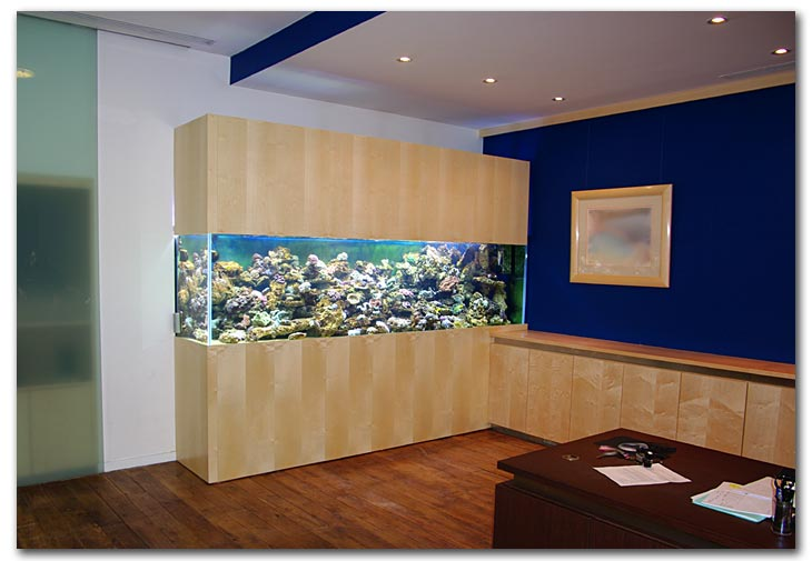 Meuble aquarium solide for Meuble aquarium design